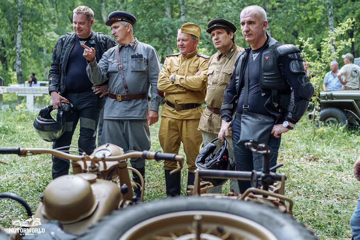 Motors of War festival in Russia