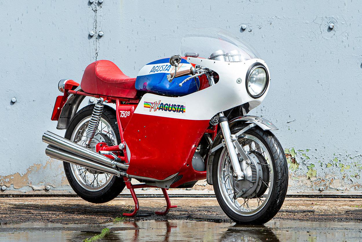 Low mileage MV Agusta 750 Sport on auction