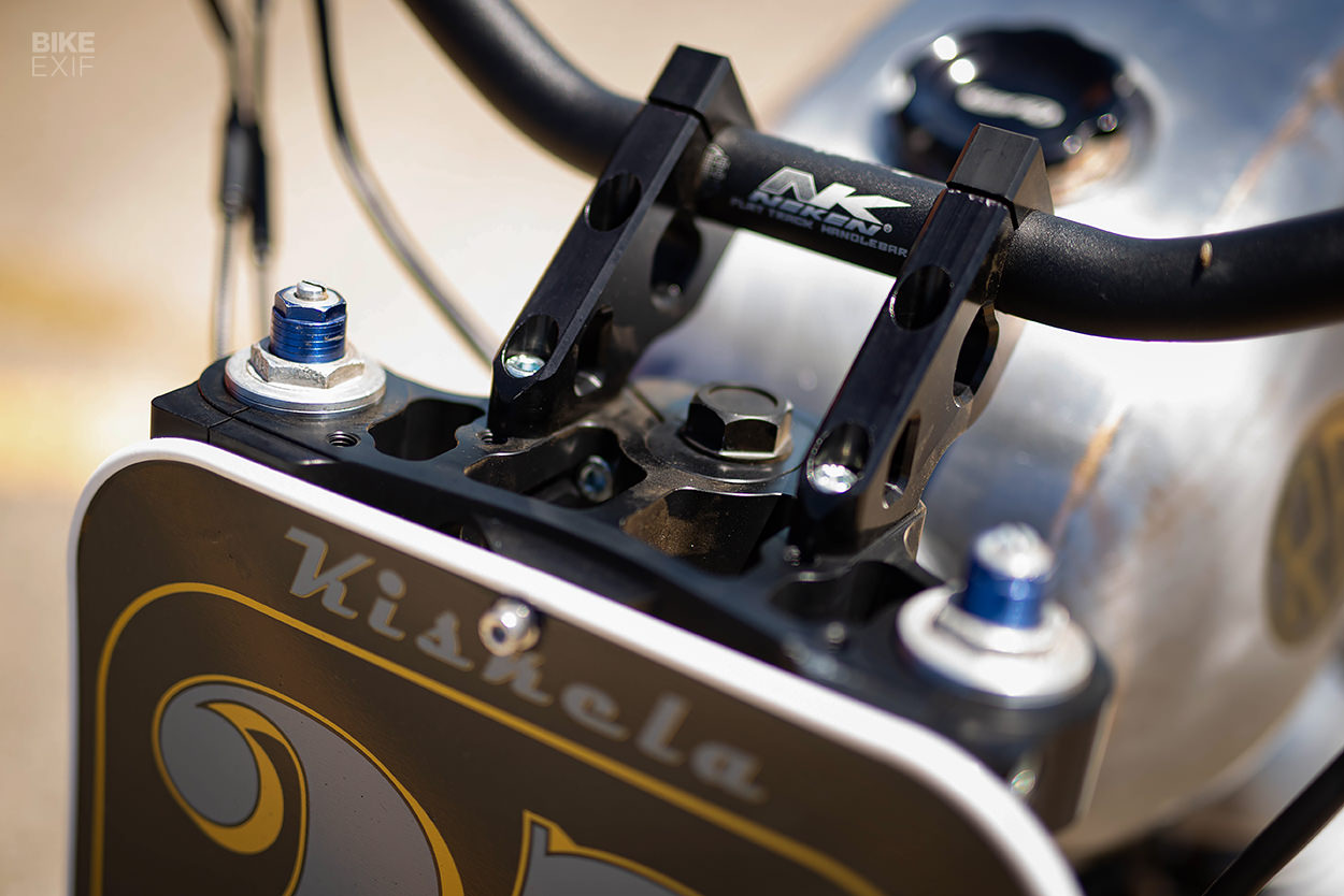 Royal Enfield INT 650 flat tracker by Nean Kiskela