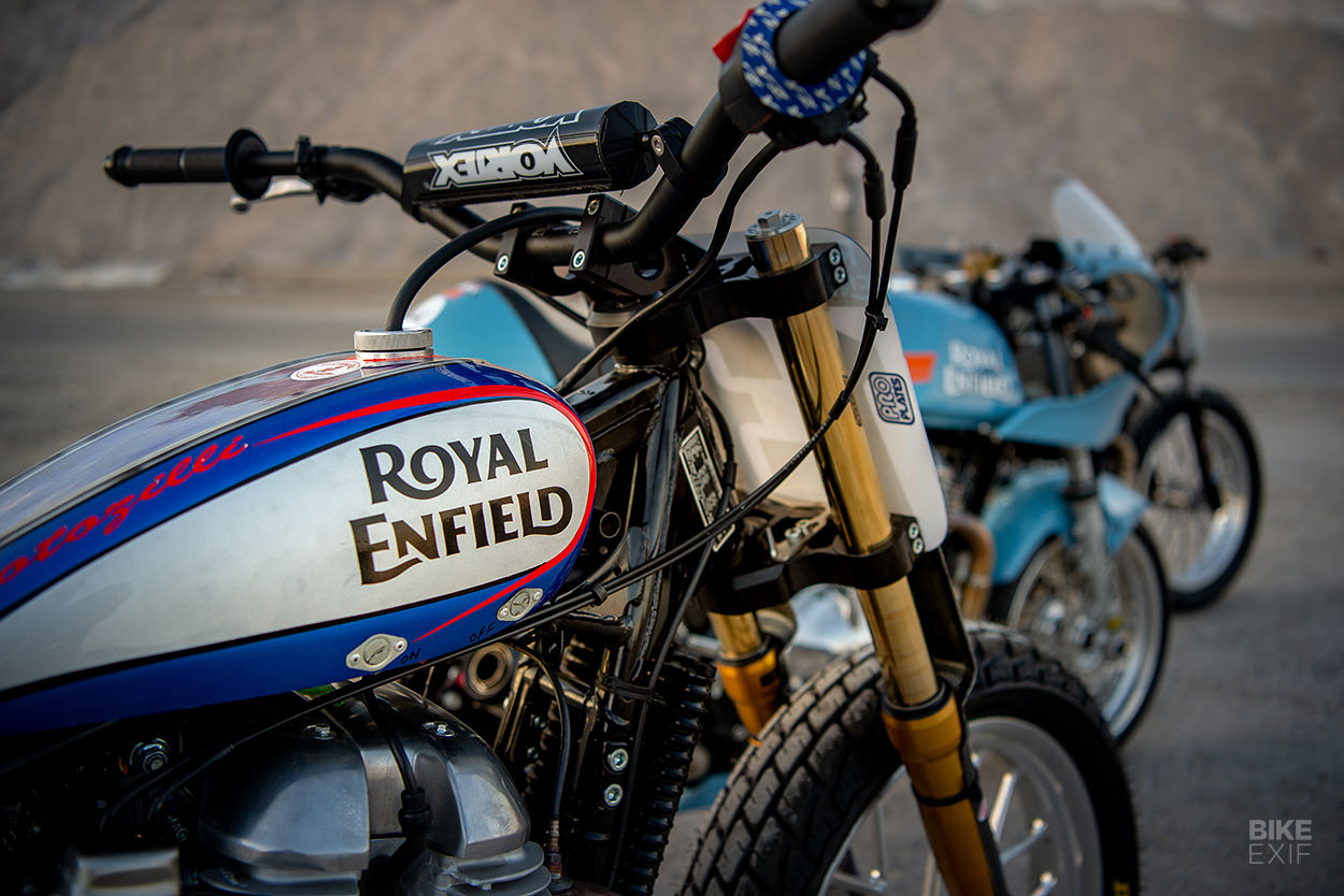 Royal Enfield's Build. Train. Race. program