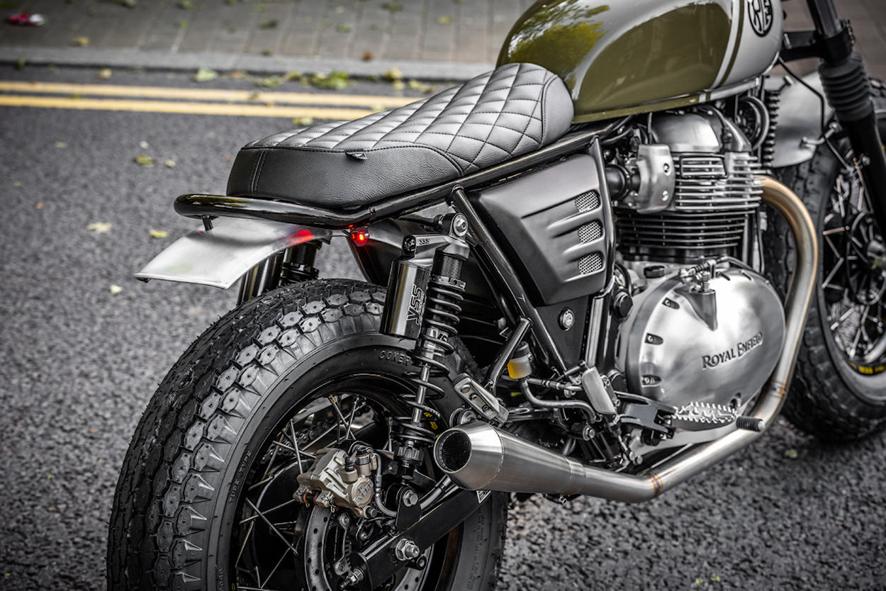 Royal Enfield Interceptor 650 by Soldoutmotorcycles