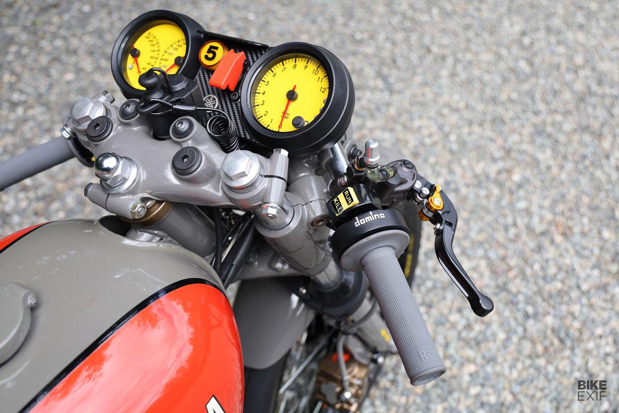 Yamaha RD350 salt flat racer by land speed record holder Eric LeVine