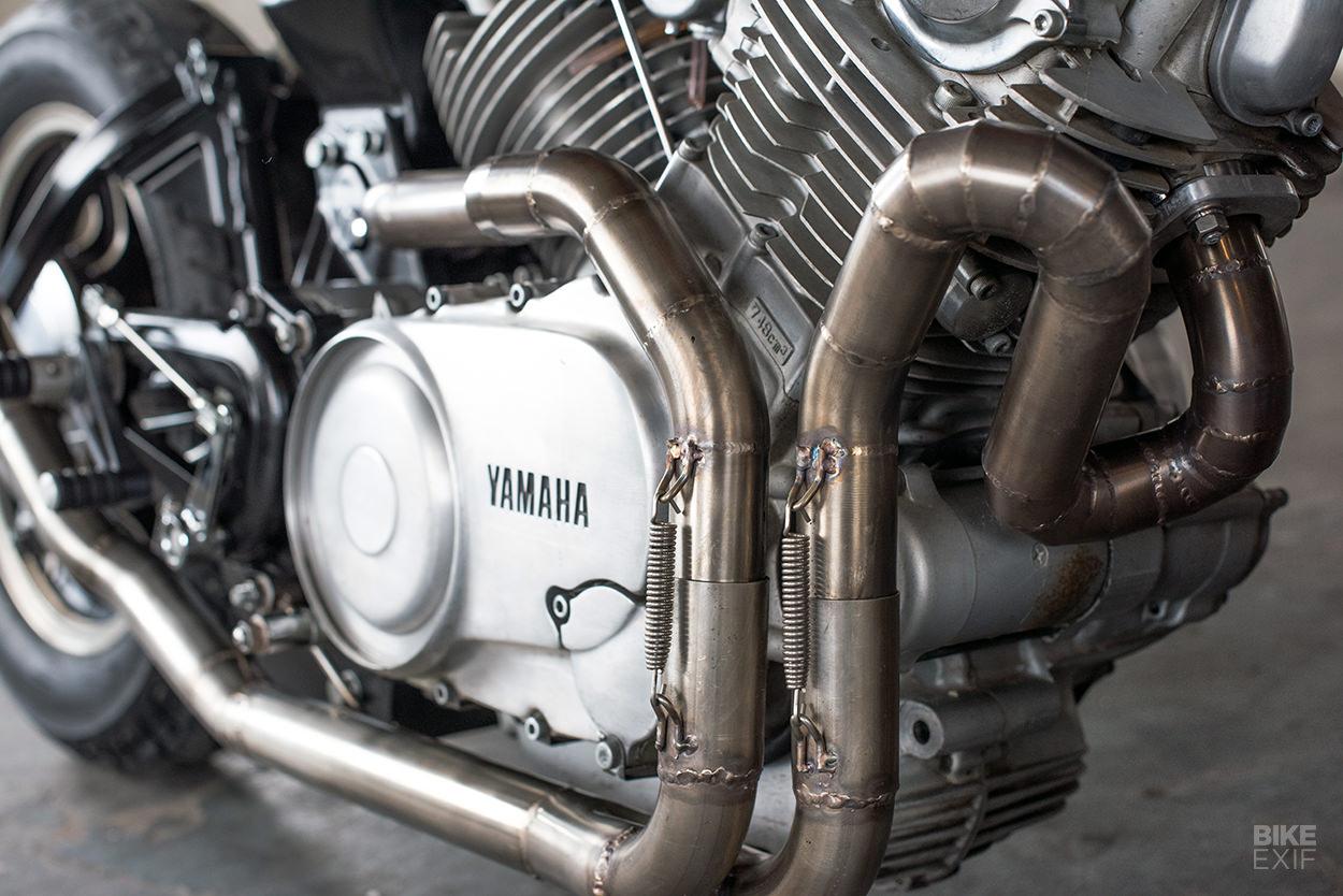 1983 Yamaha Virago 750 cafe racer by Kevin McAllister