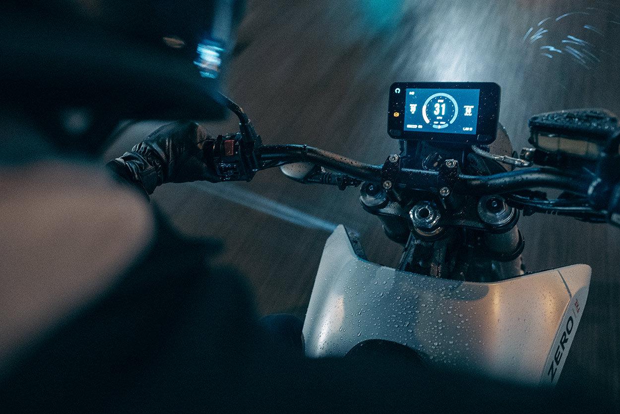 2021 Zero FXE electric motorcycle