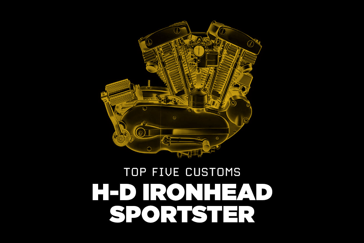 Top five Harley-Davidson Ironhead Sportsters
