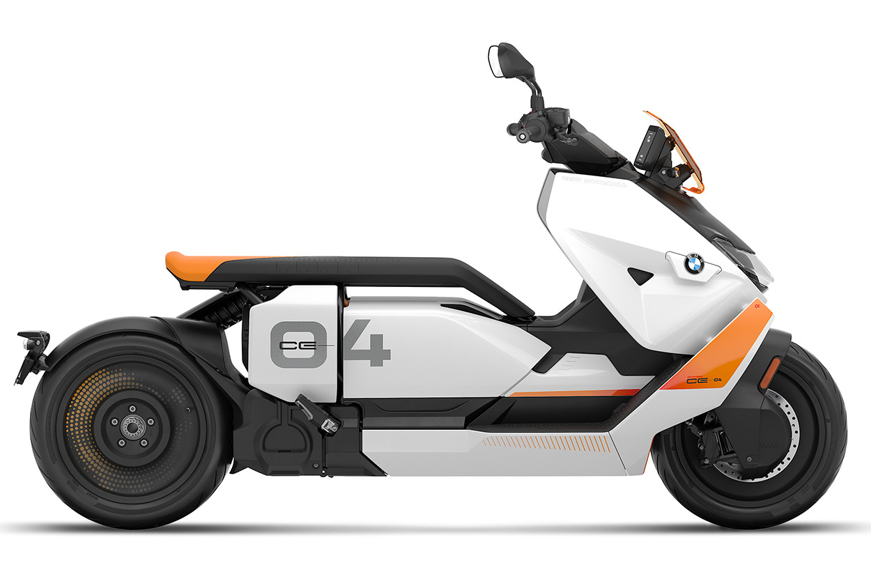The new BMW CE 04 electric scooter