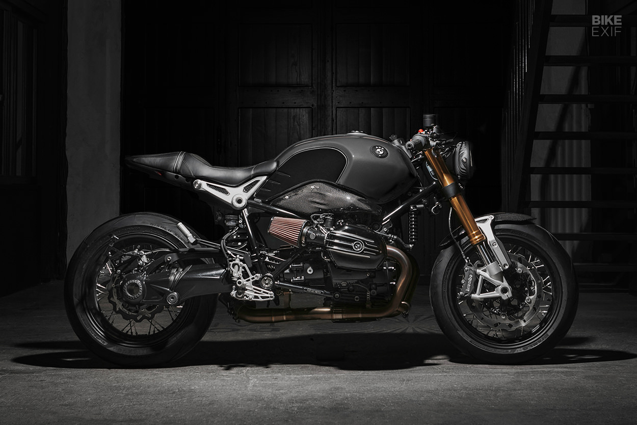 Custom BMW R nineT by Le Motographe