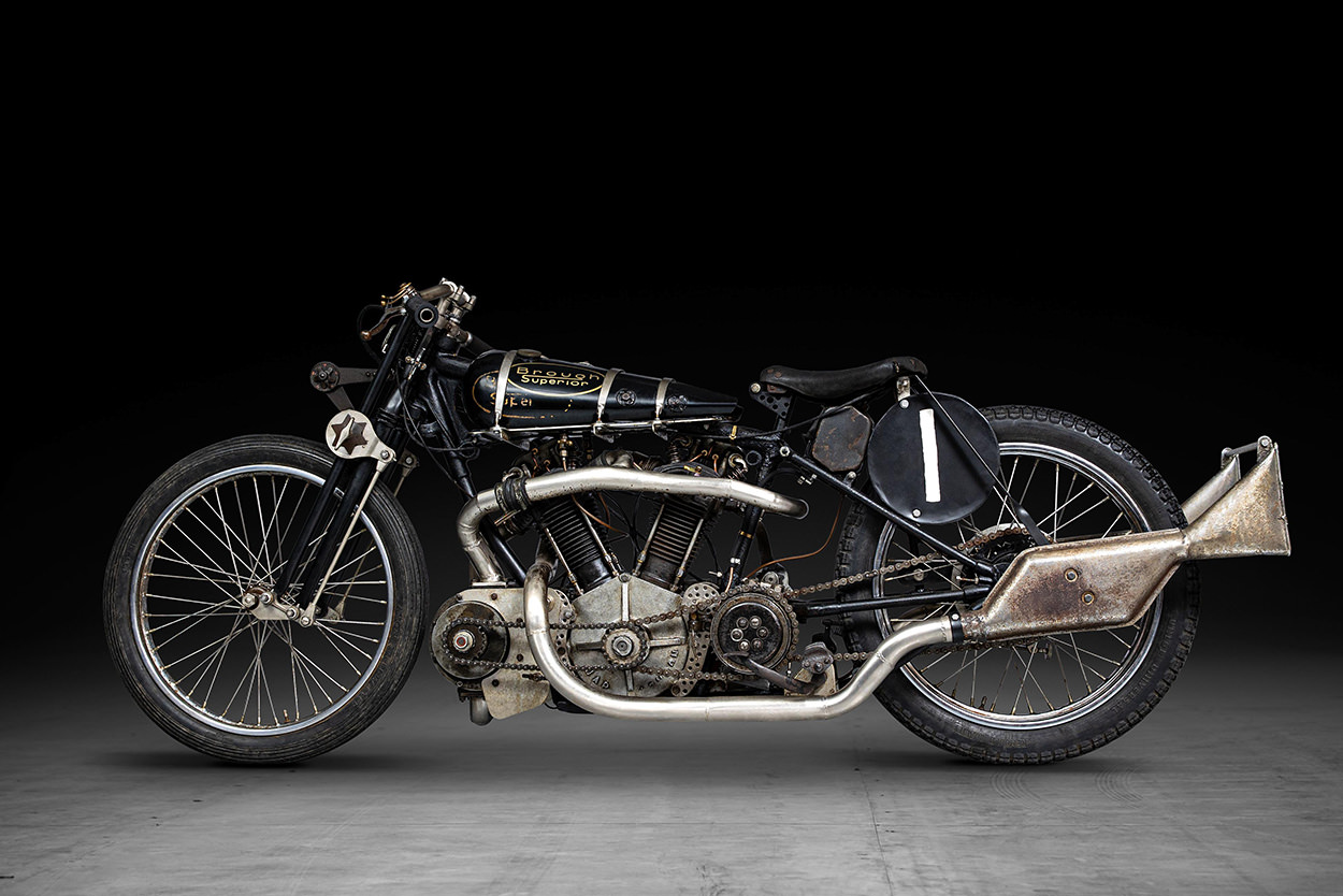 Supercharged Brough Superior SS100