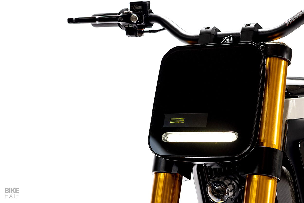 The DAB Motors Concept-E electric motorcycle
