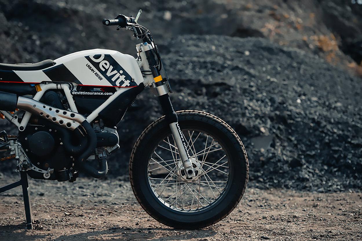 Ducati Scrambler flat tracker by Vanoni