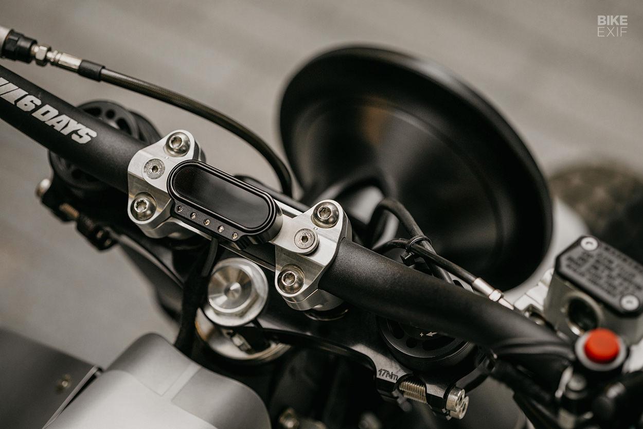 KTM 300 XC-W street tracker by Dave Mucci