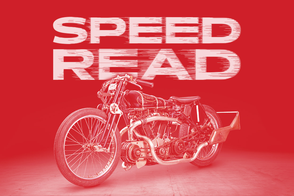 The latest motorcycle news, custom bikes and videos