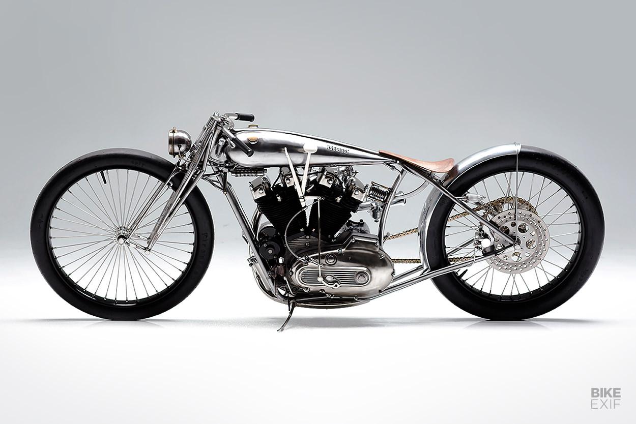Custom Harley-Davidson Ironhead Sportster by Max Hazan
