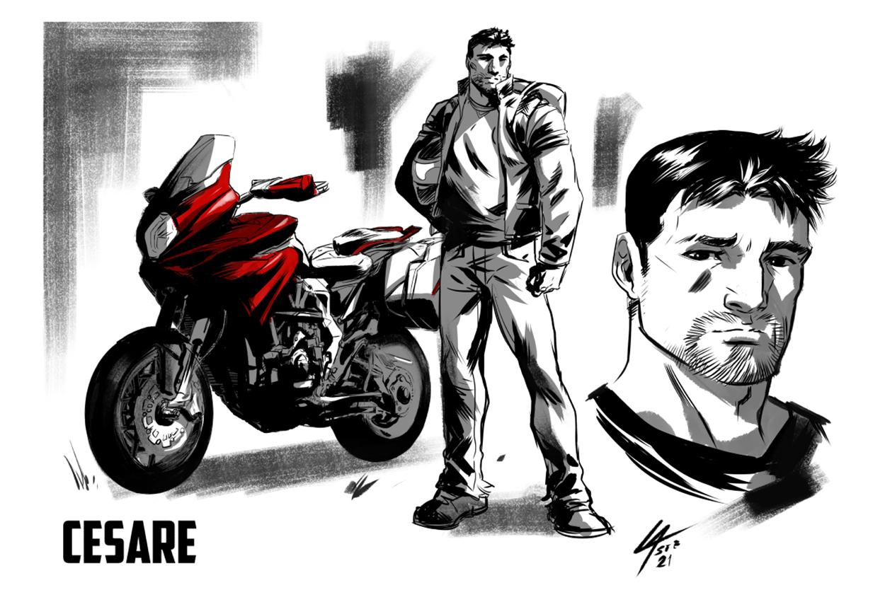MV Stories: The MV Agusta comic strip
