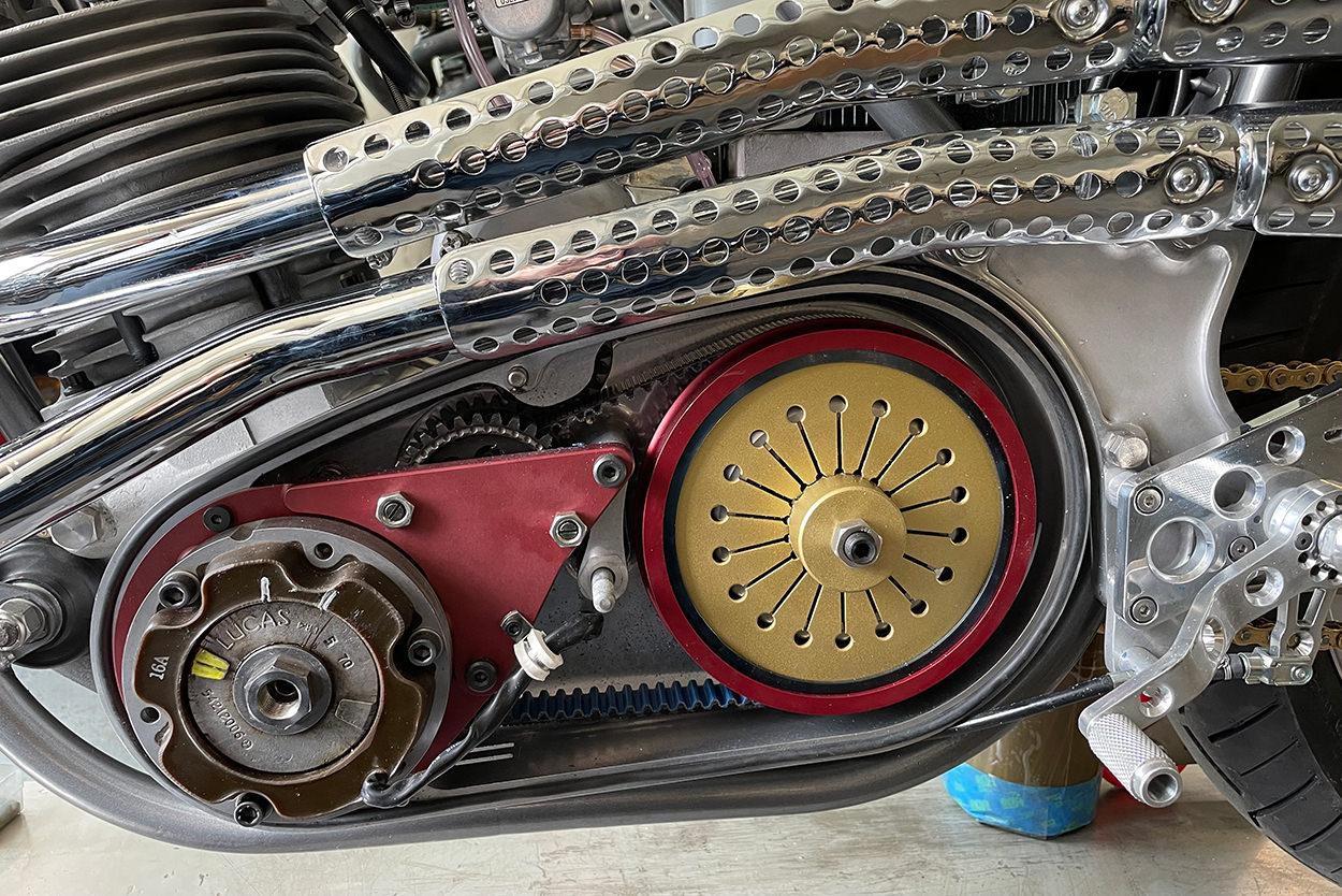 Norton Commando 'S' Roadster racer by NYC Norton