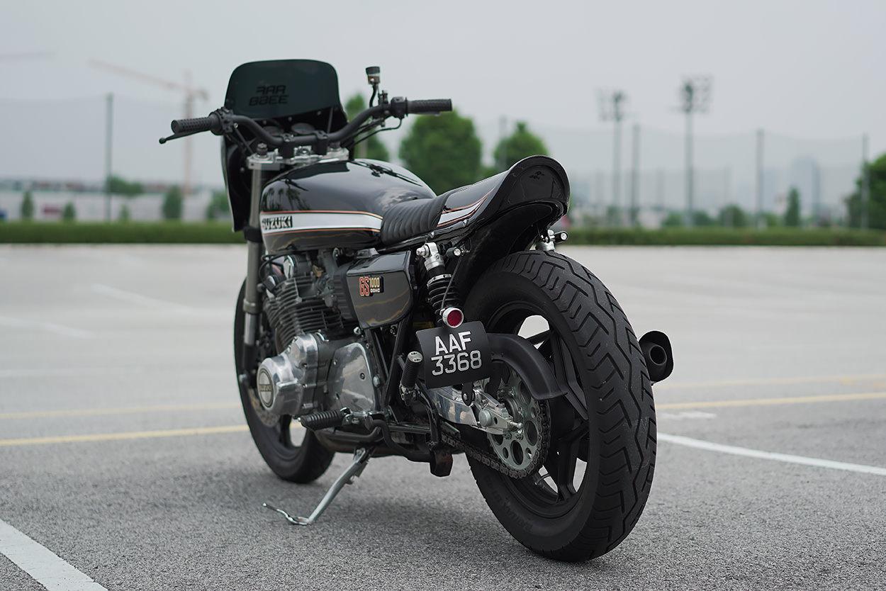 Suzuki GS1000 restomod by The Rebanism