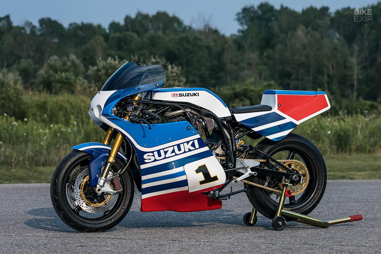 Bandit-powered Suzuki XR69 tribute by dB Customs