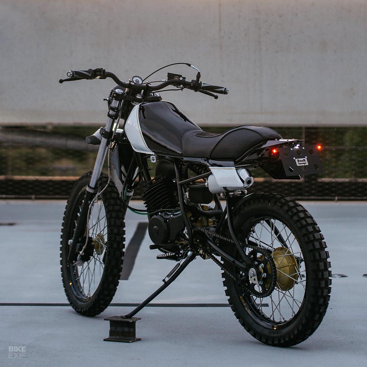 Yamaha DT125 custom by BaaM Garage