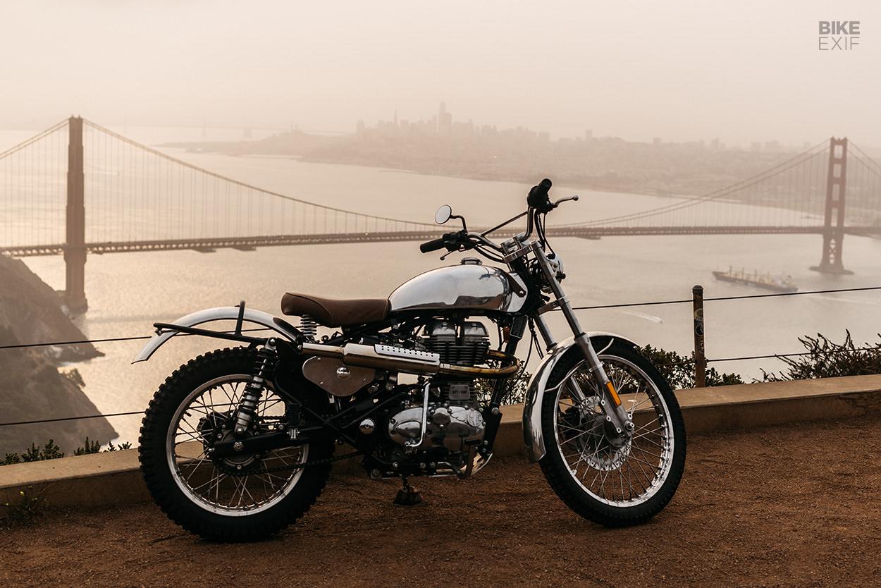 Royal Enfield 500 trials bike by BAAK USA