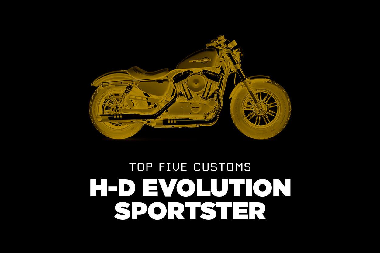 Top five Harley-Davidson Evolution Sportsters