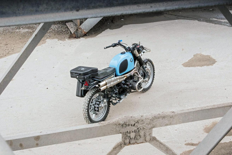 BMW R100 RS restomod by Hammer&Co
