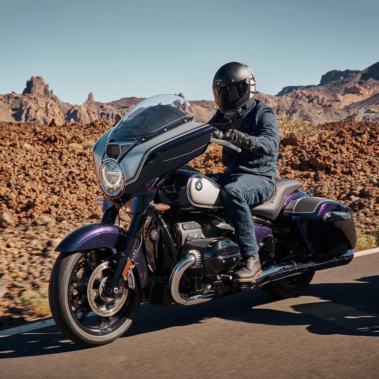BMW R18 B touring motorcycle