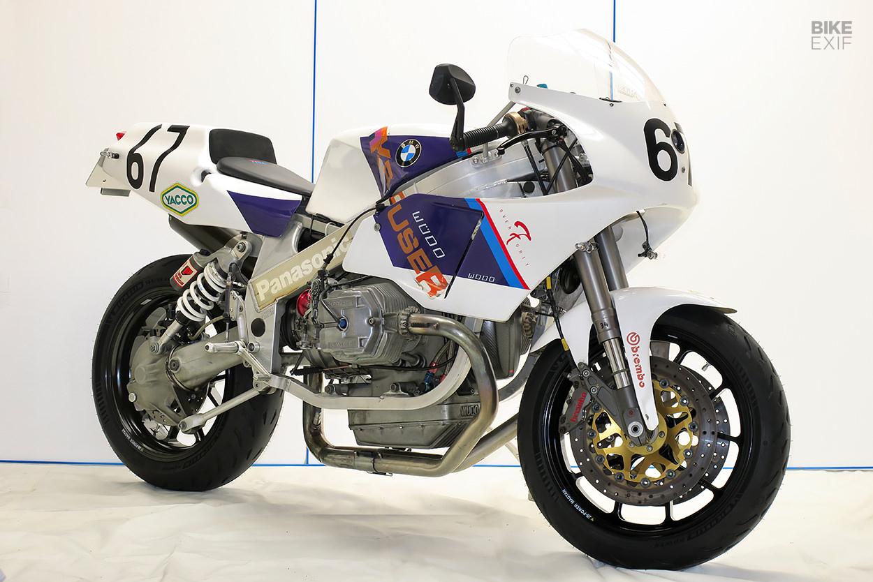Street legal BMW race bike by Boxer Moto
