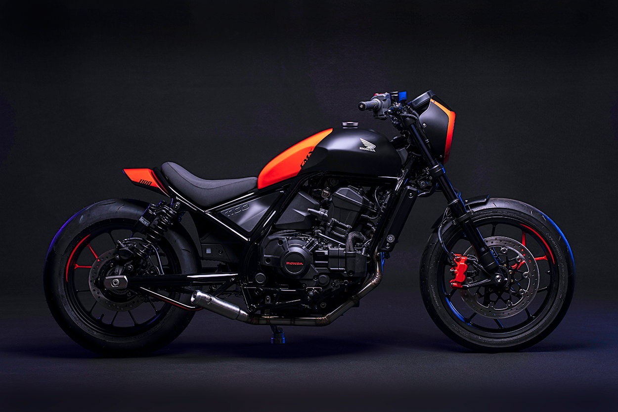 Custom Honda Rebel 1100 Sport by FCR Original