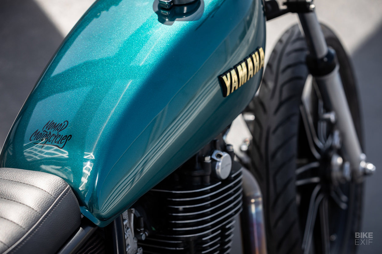 Yamaha SR500 by Nomad Motorcycles