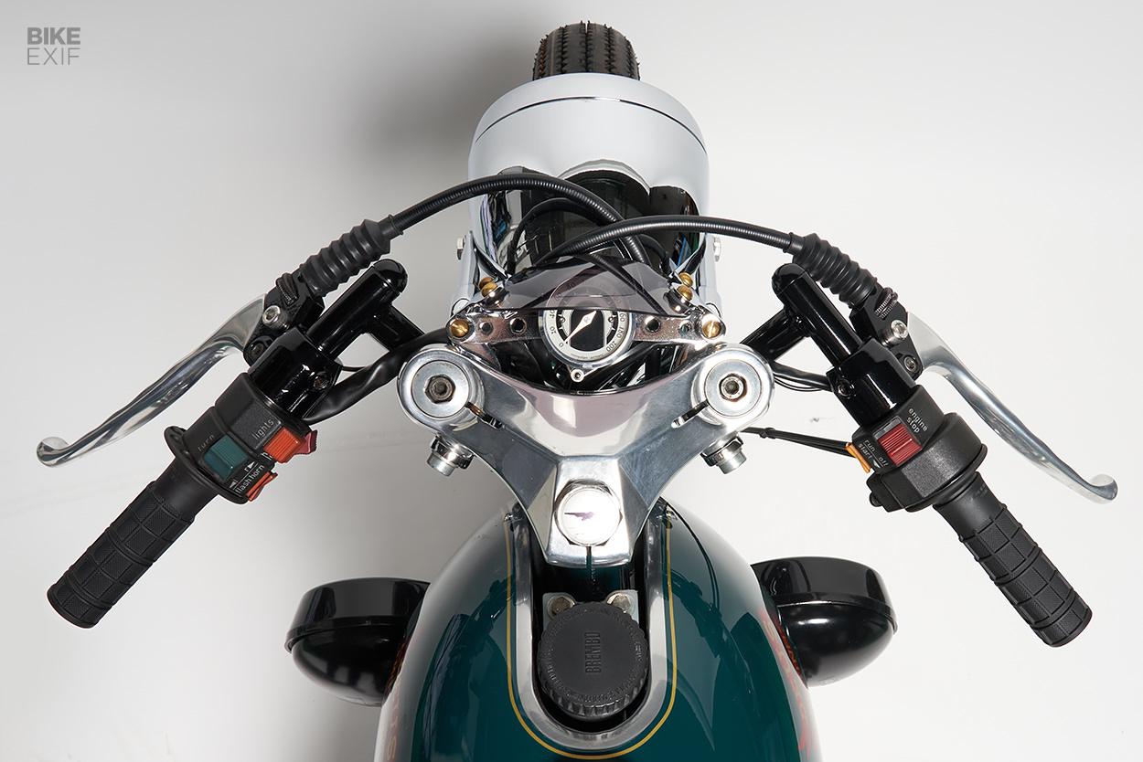 Moto Guzzi V50 cafe racer by Deus Japan