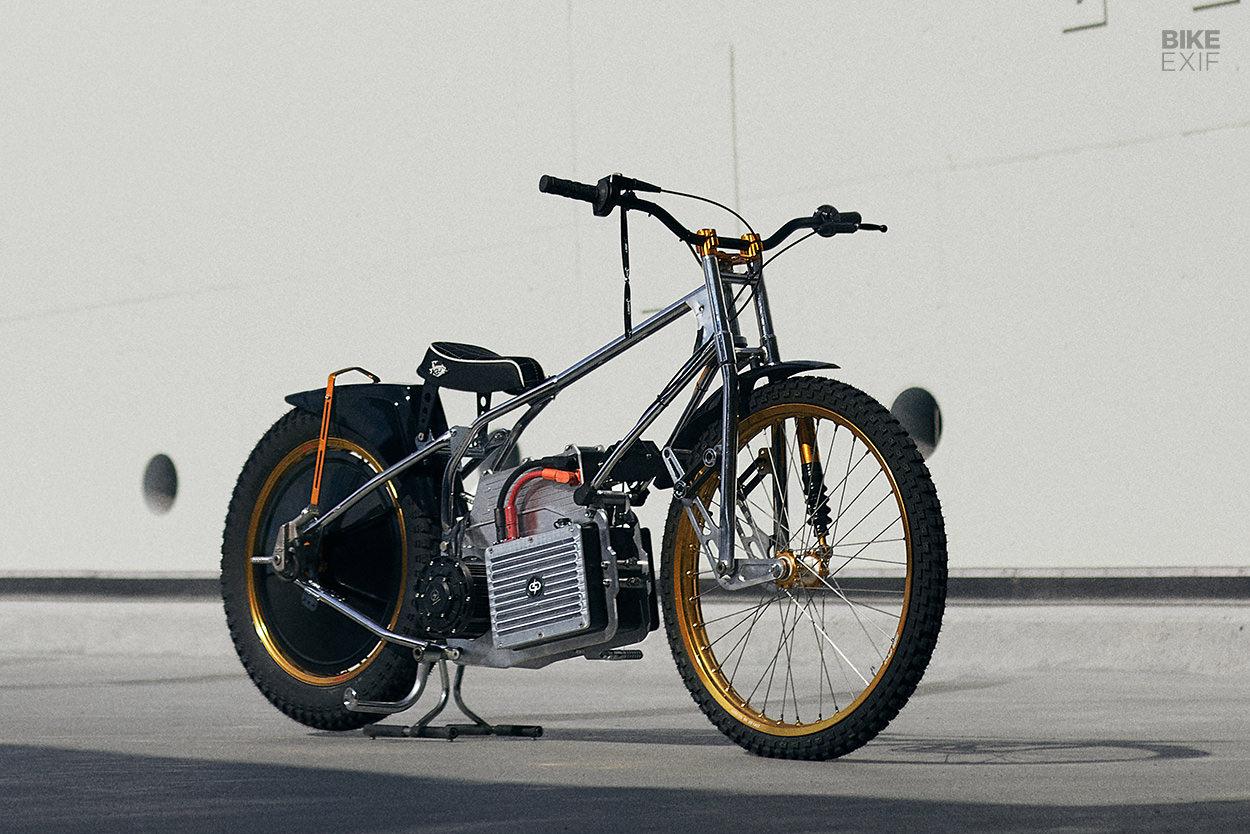 Electric speedway bike by Espeedway