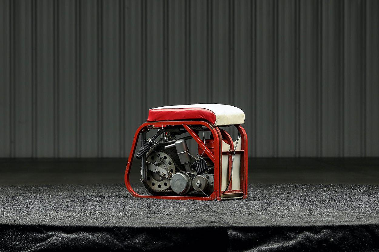 Fuji Go Devil folding scooter