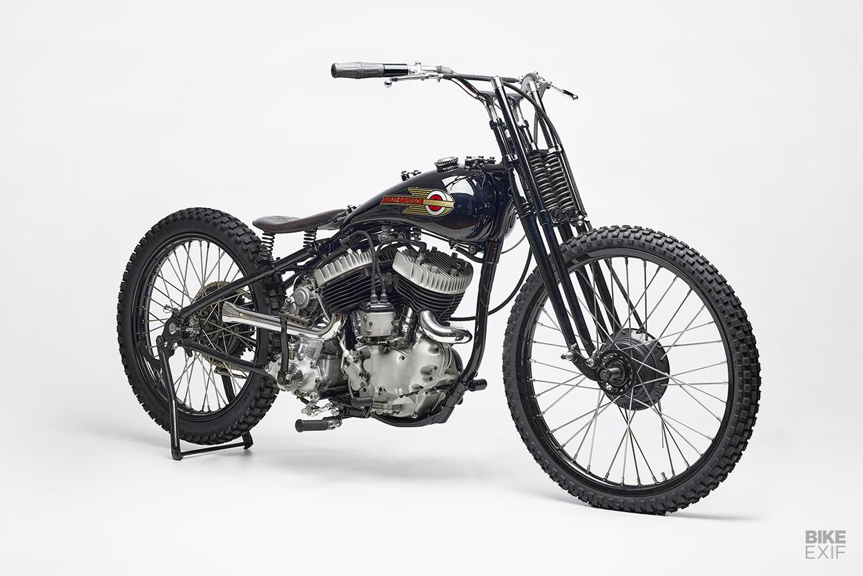 Harley flathead dirt tracker by Ehinger Kraftrad