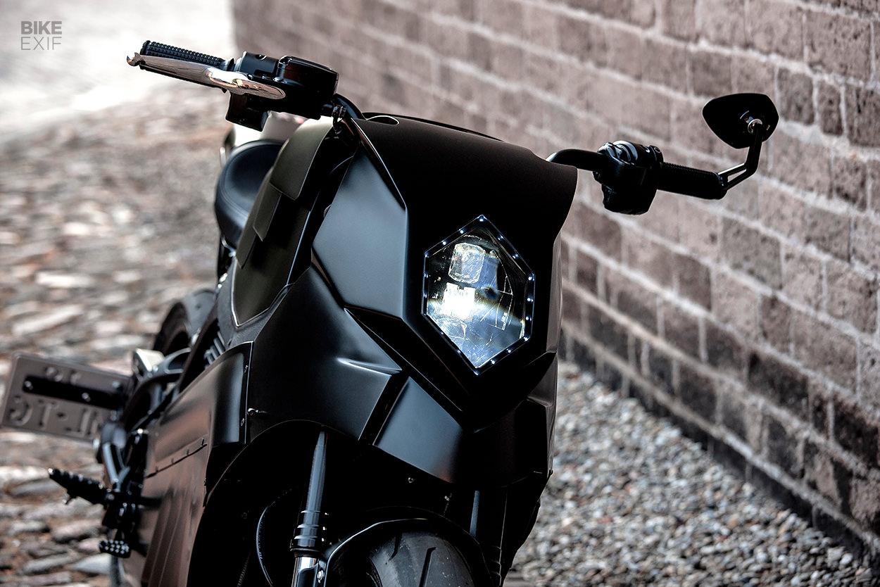 Custom Harley-Davidson LiveWire by Moto Adonis