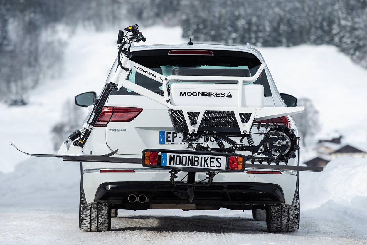 MoonBikes electric snow bike