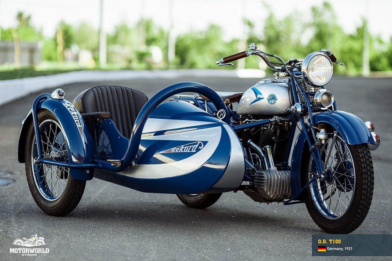 1931 O.D. T100 from Motorworld by V.Sheyanov