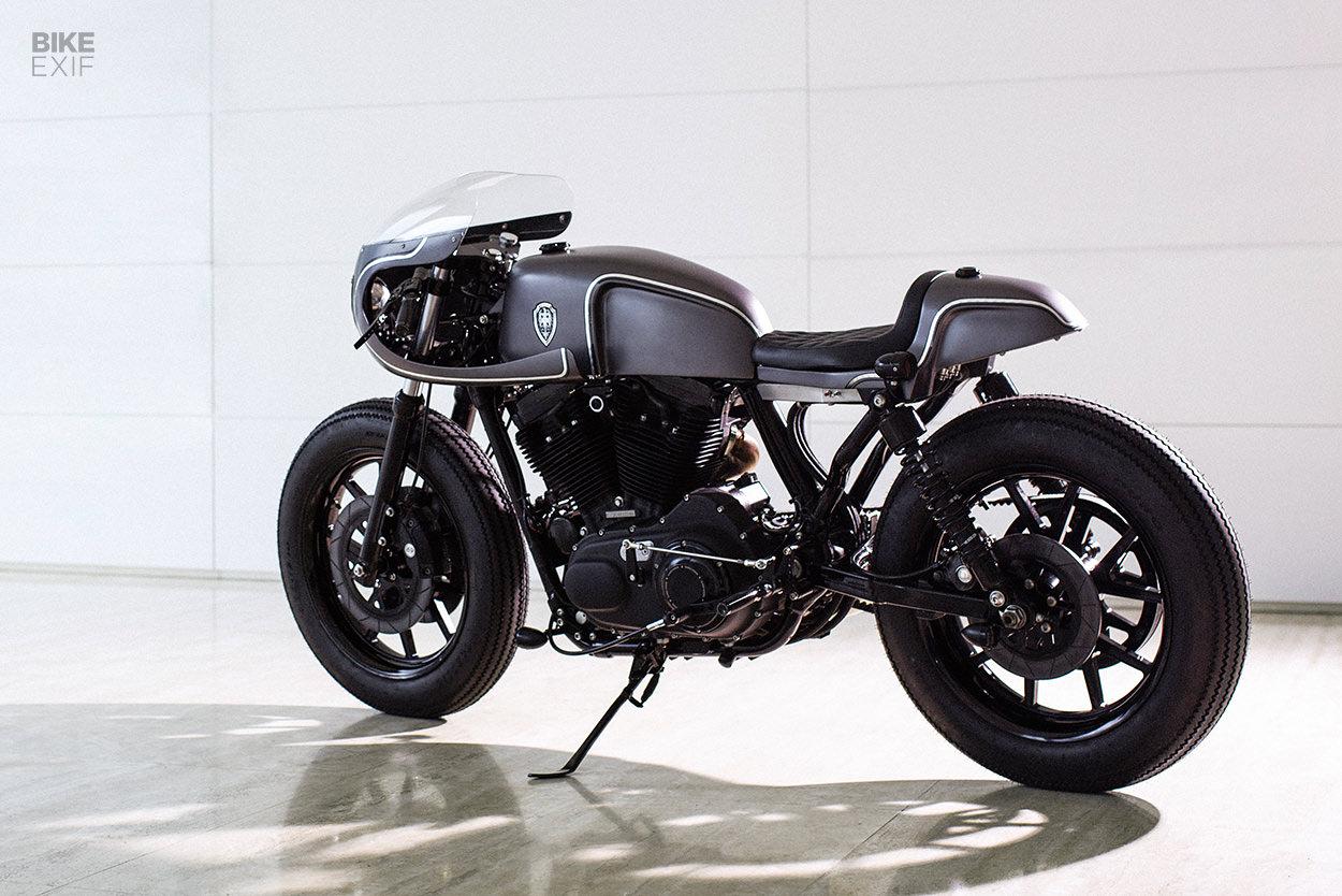 Harley-Davidson Sportster cafe racer by Rough Crafts