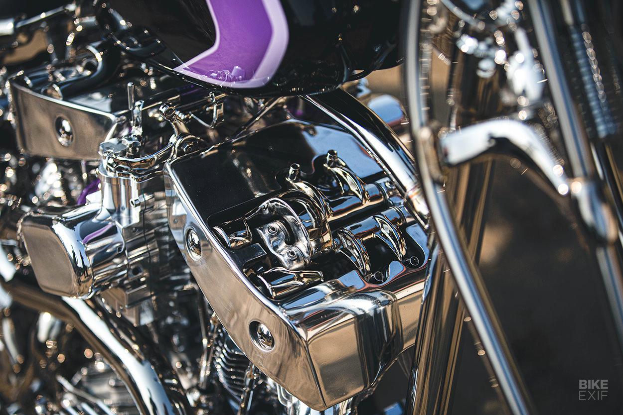 Turbocharged Harley-Davidson chopper by Christian Newman