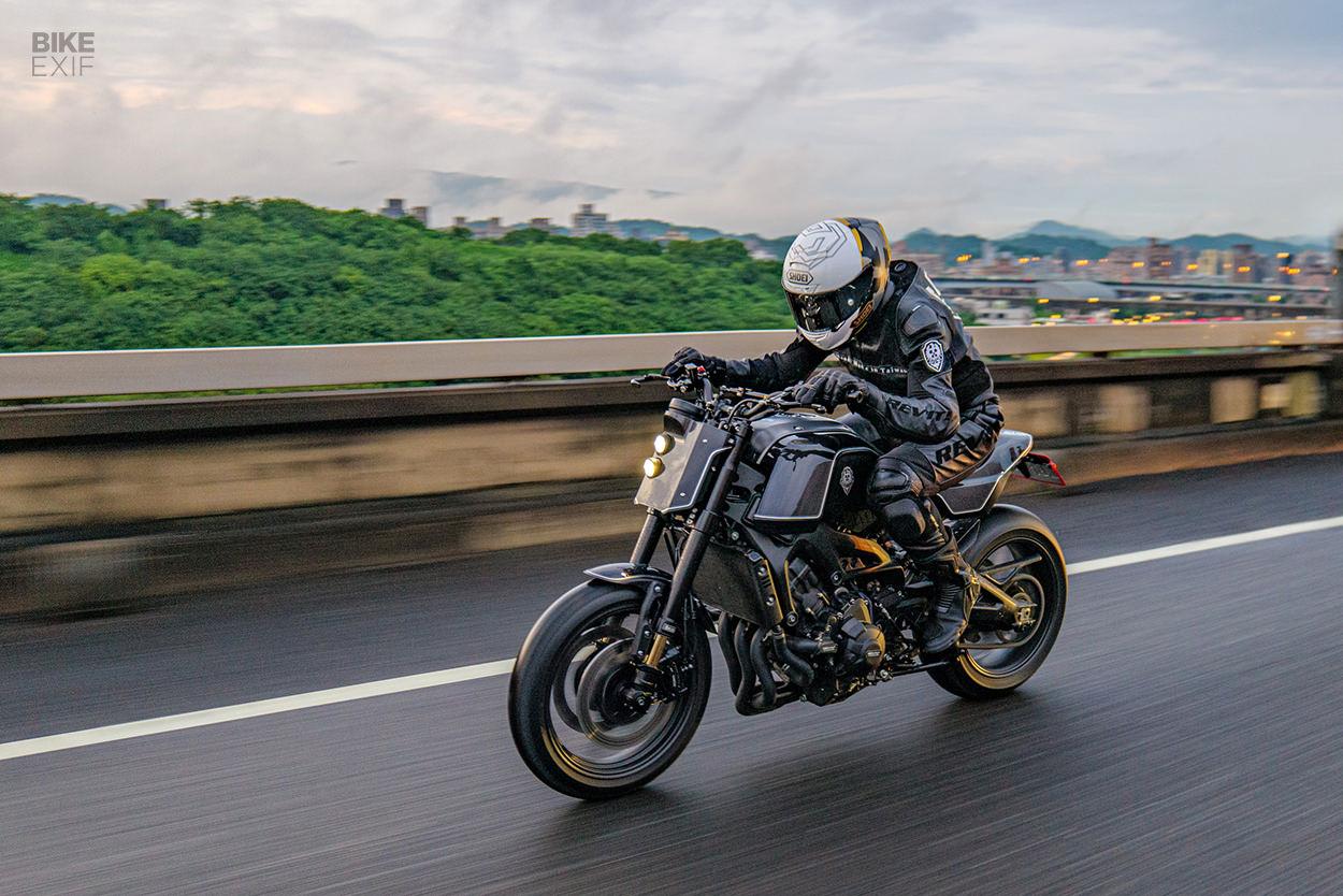 Yamaha XSR900 custom by Rough Crafts