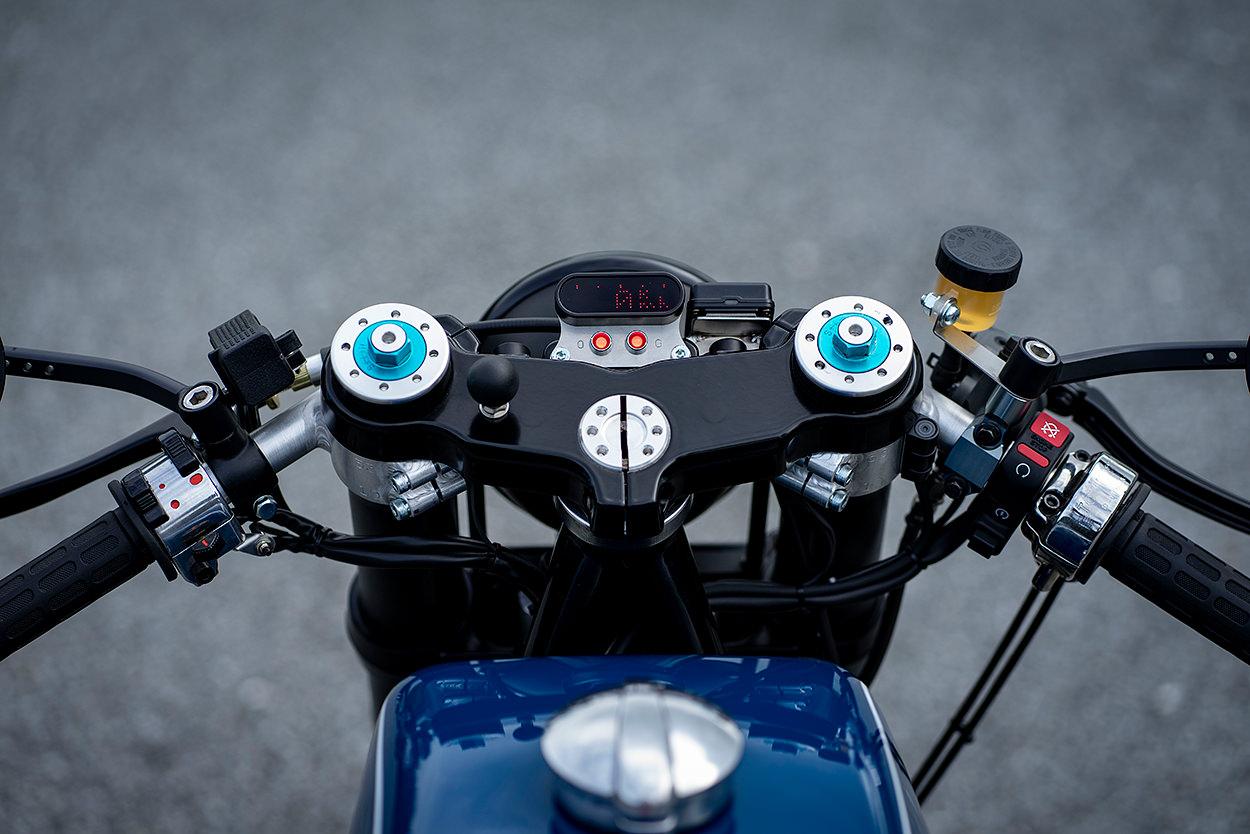 BMW R100RS cafe racer by Shiro Nakajima of 46works