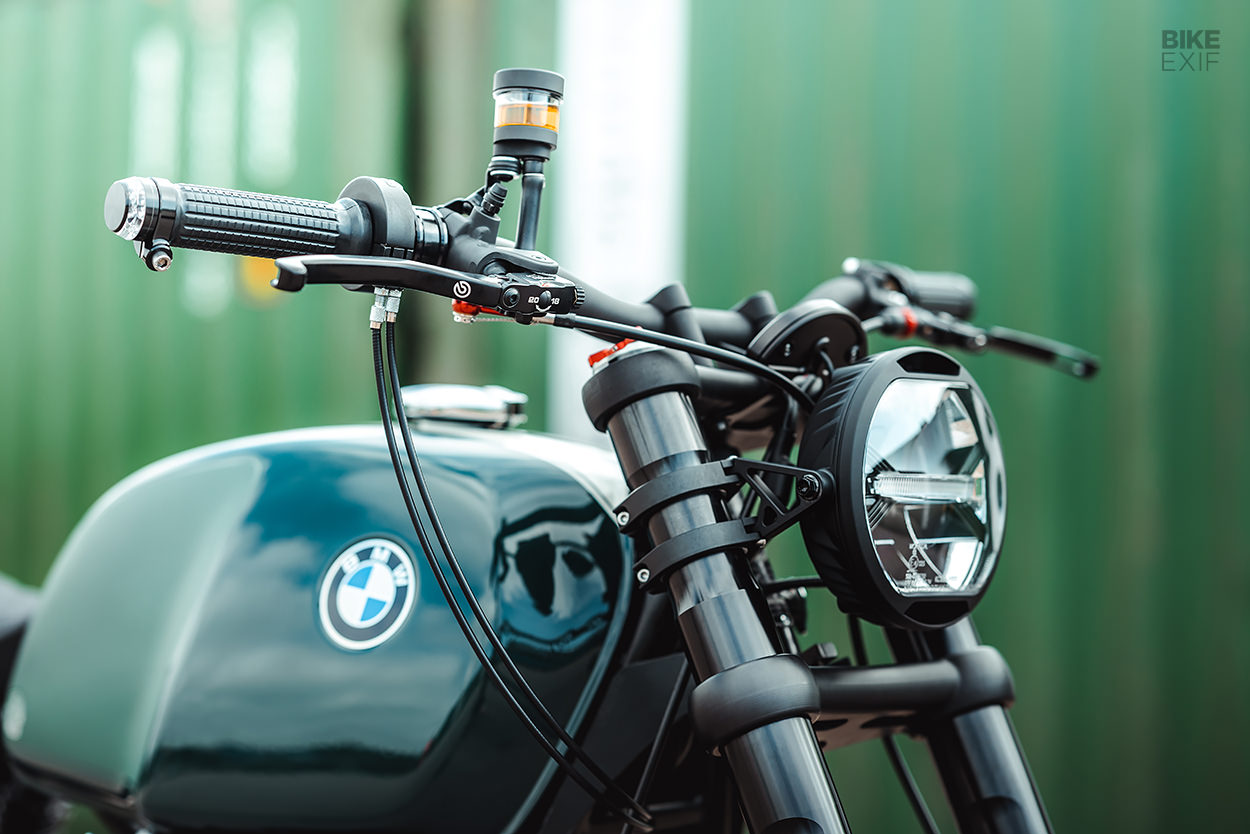 BMW R90S scrambler by Injustice Customs