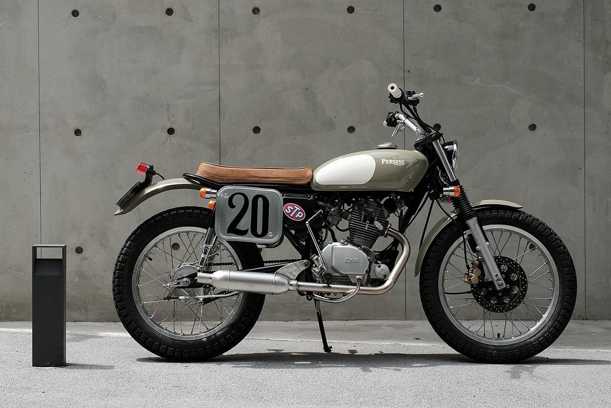 Custom SYM Wolf 125