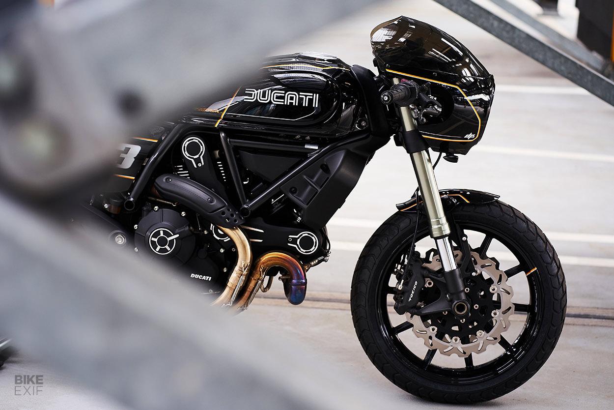 Ducati Scrambler Cafe Racer oleh Dexer Parts