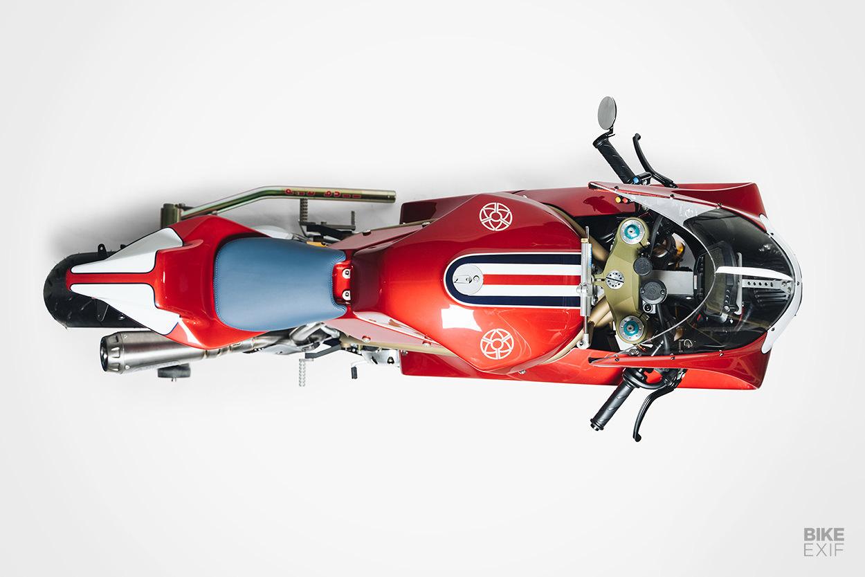 Ducati SBK custom superbike by Walt Siegl