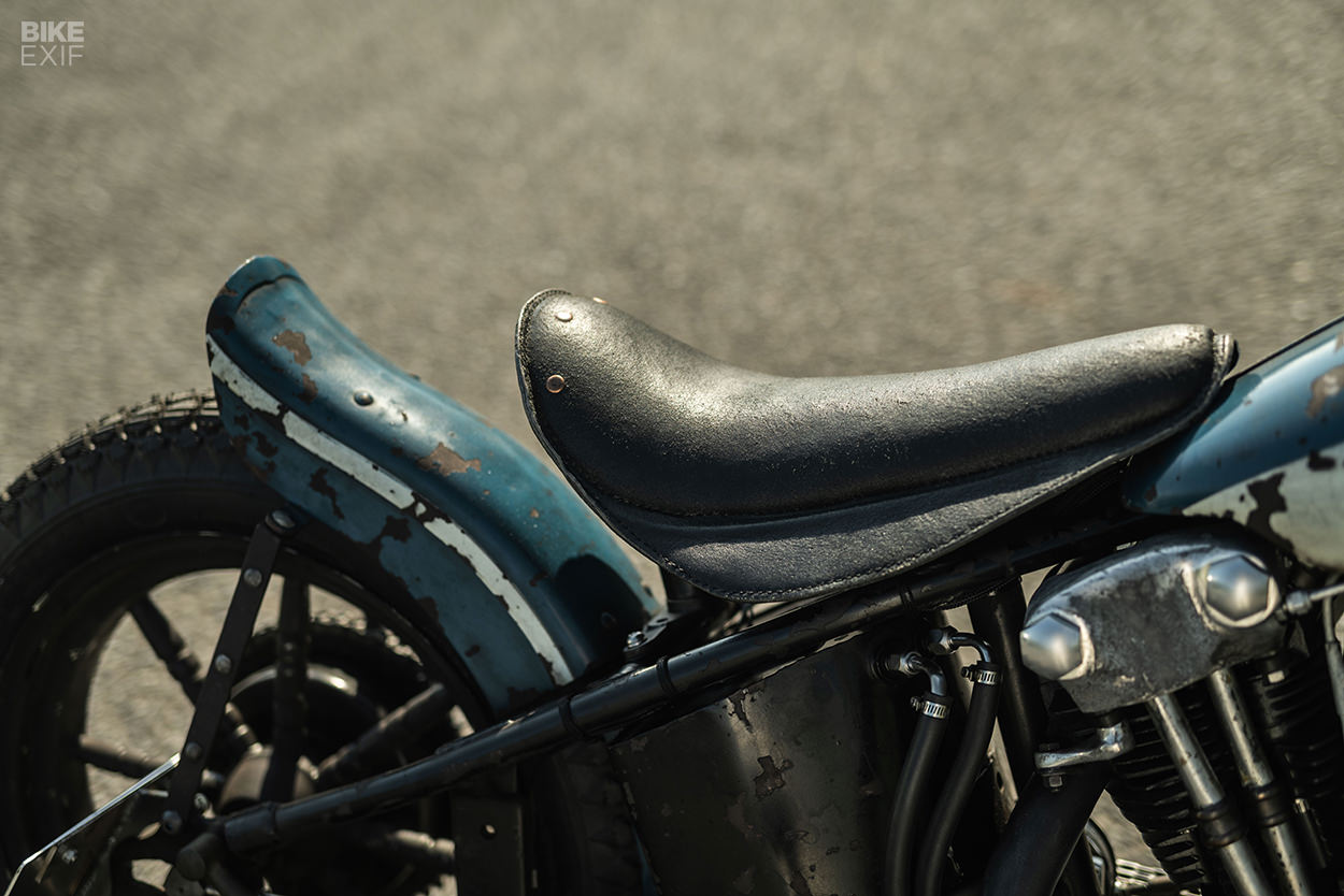 Harley knucklehead hill climber by CW Zon