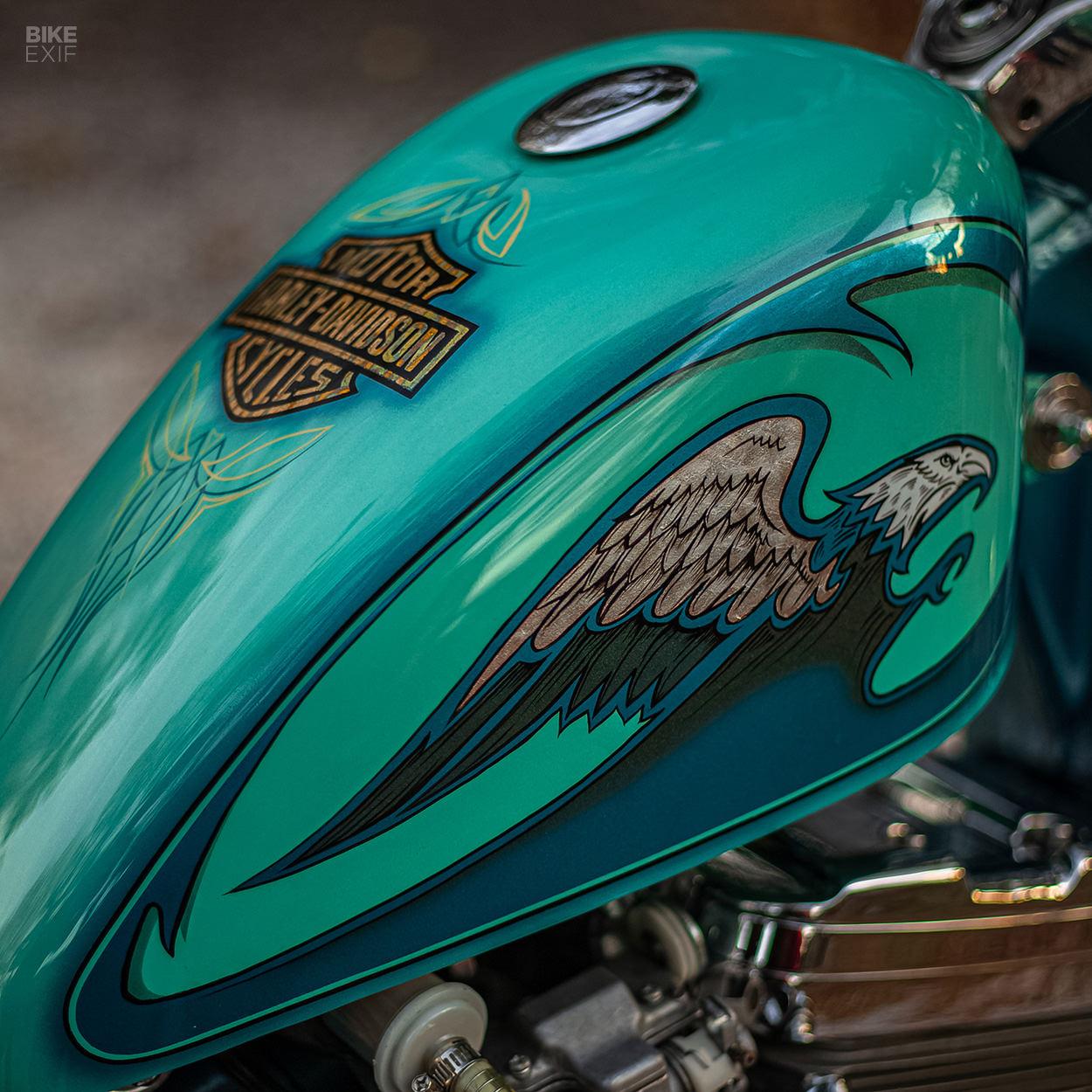 Harley-Davidson Sportster chopper by Minority Custom