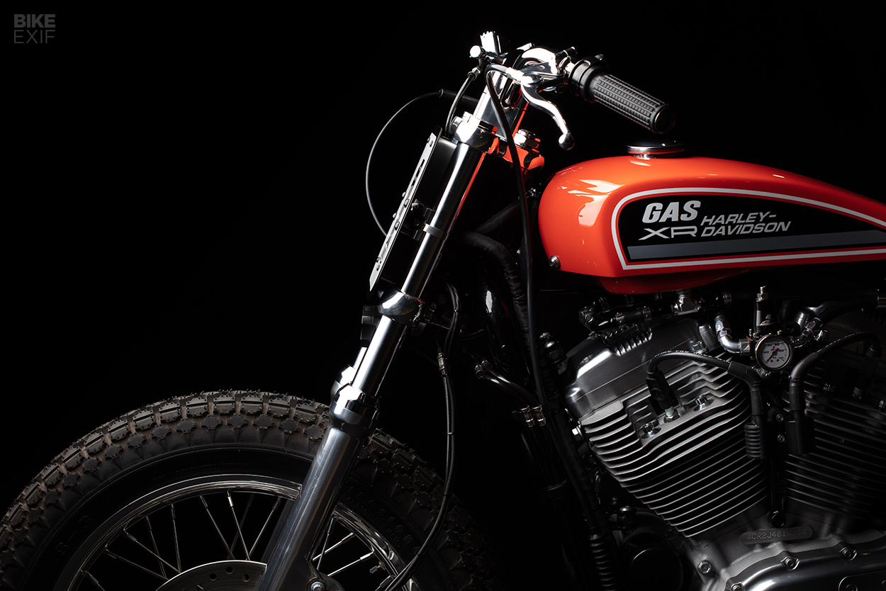Replica Harley XR750 tracker from Gasoline Motor Co