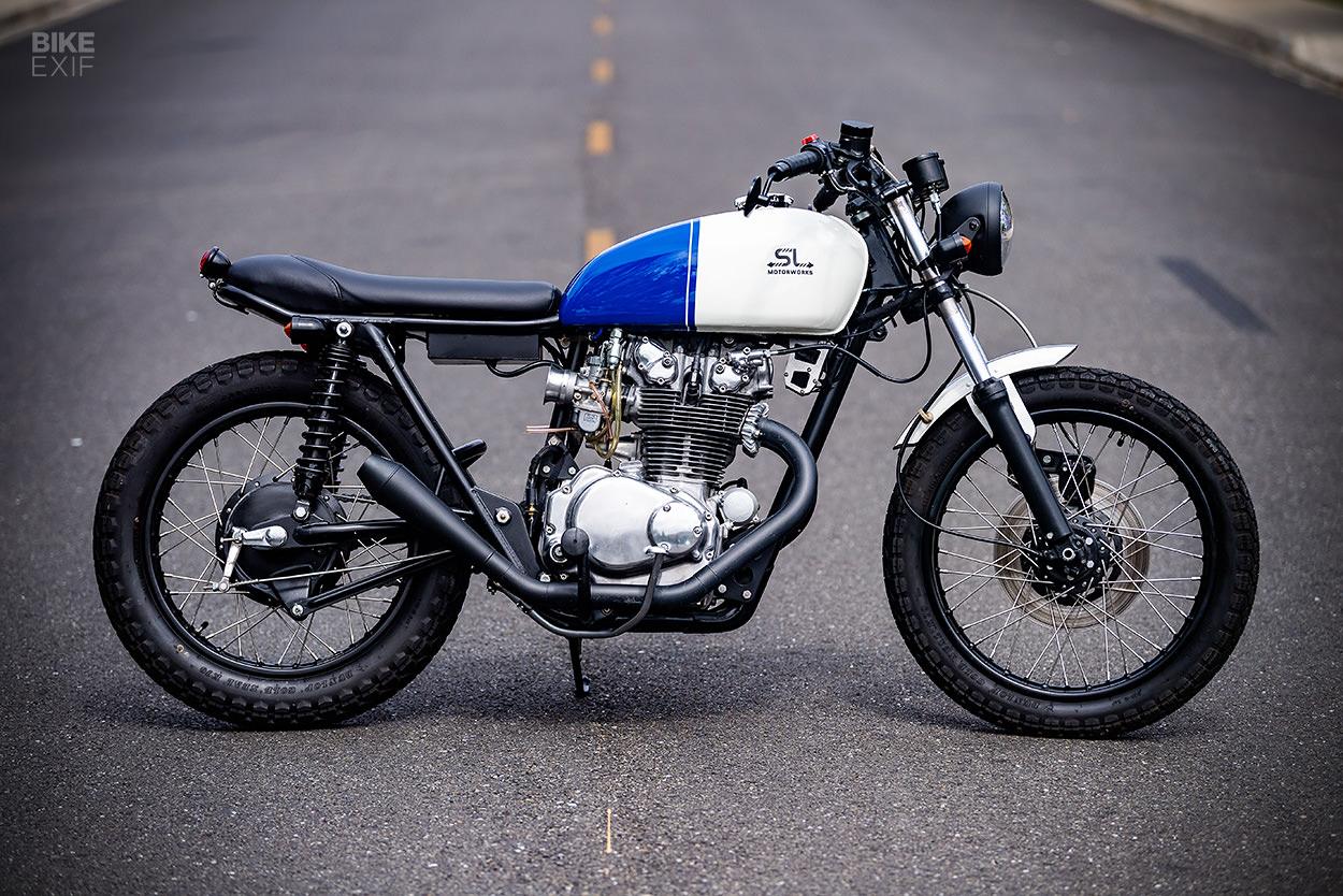 Honda CB450 by Scott Loyet