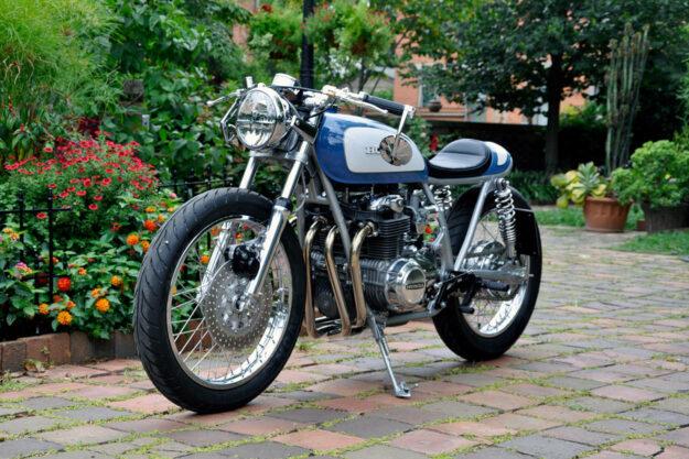 Honda CB550 by Mark Colasante