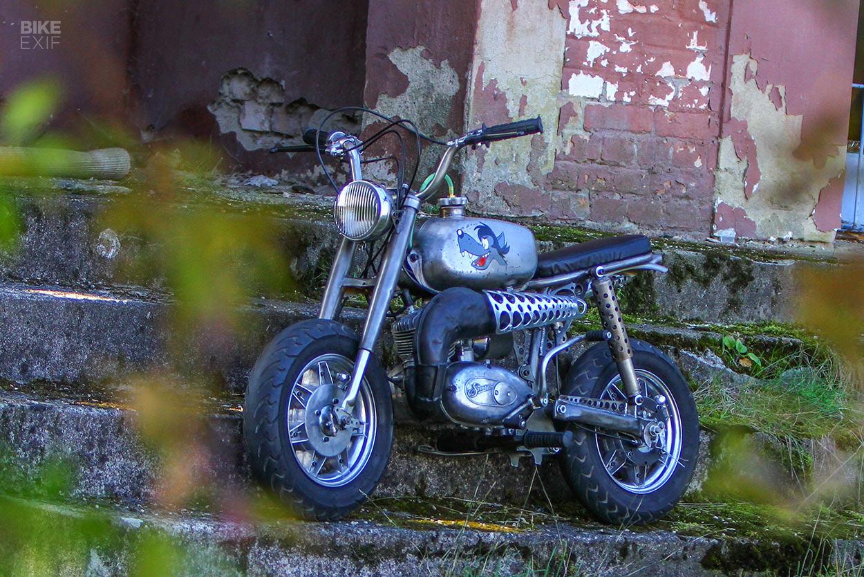 Sepeda mini khusus oleh Laszlo Gabor